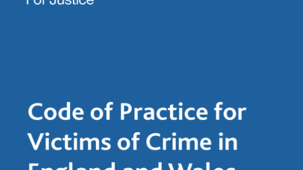 Victims' Code of Practice